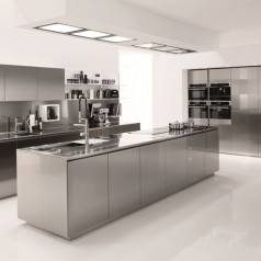 Come pulire la cucina in acciaio segreti e trucchi il borgo della conoscenza - Pulire la cucina ...