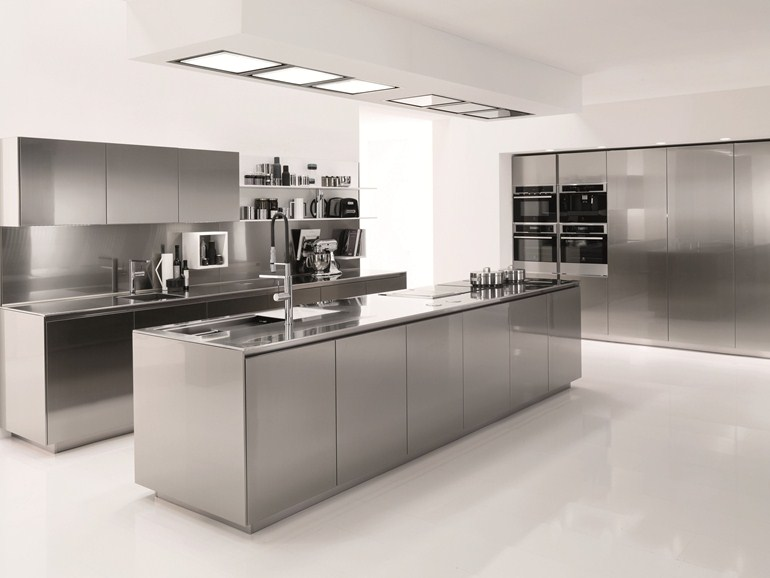 Beautiful Cucina In Acciaio Inox Ideas - Home Interior Ideas ...